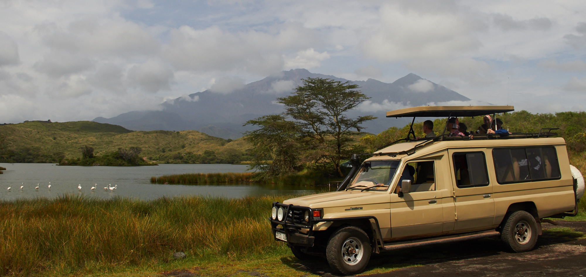 Arusha Nationalpark Safari