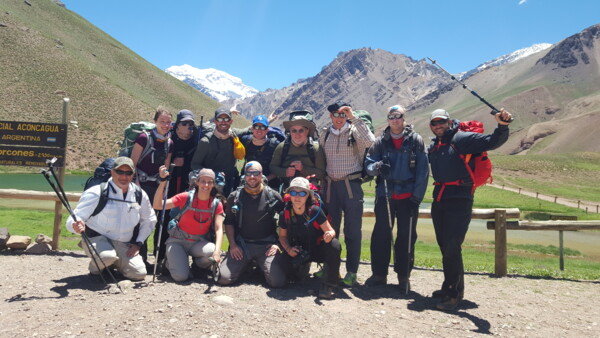 Aconcagua Besteigung / Expedition - Team