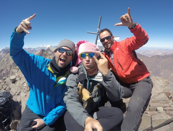 Aconcagua Besteigung / Expedition - Summit