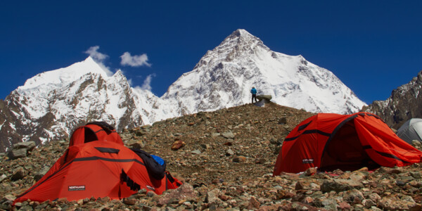 K2 View Basecamp Broad Peak, Pakistan, Berg-Photographie