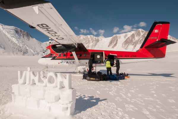 Seven-Summit-Expedition Mount Vinson