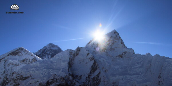 Mount Everest: Sicht vom Kala Patthar, Nepal.