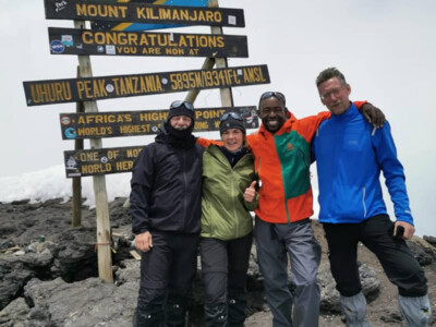Kilimanjaro Summit 2020 March - Team on Uhuru Peak. | © SummitClimb Kilimanjaro