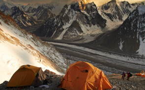 Broad Peak - Camp 2 - (c) Bild: Felix Berg