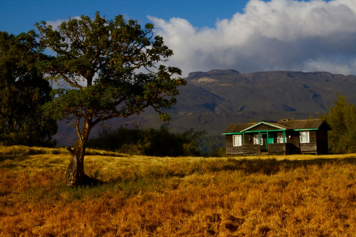 Chogoria Mountain Lodge auf der Chogria Route - Mount Kenia