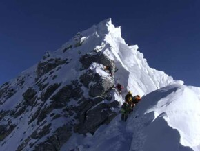 Everest Gipfelgrat Nepal