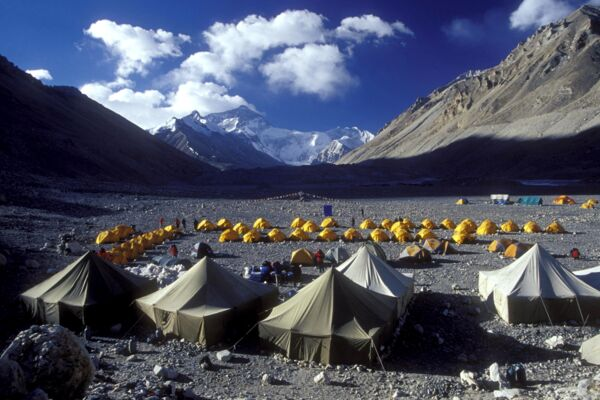 Everest-Expedition Nord/Tibet