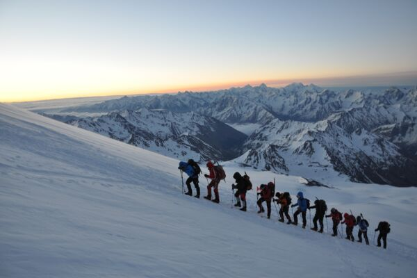 Elbrus Skitour Expedition